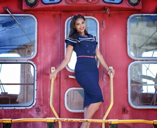 Quinceanera Train Photo Shoot