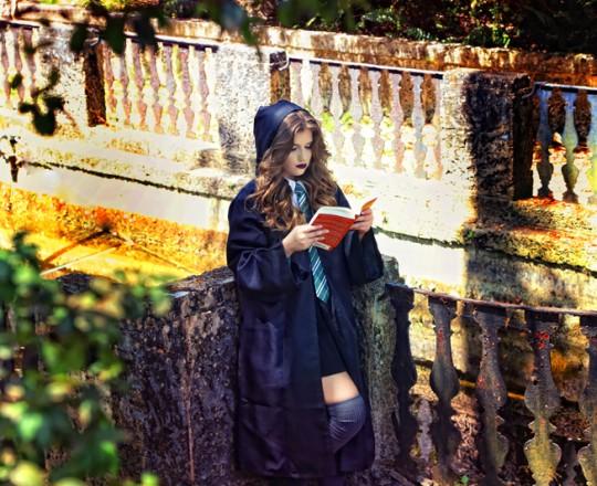 Quinceanera photo shoot wizard harry potter sweet sixteens fifteens