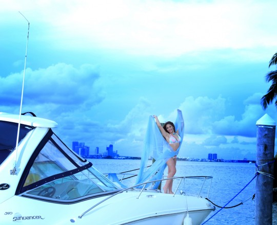 quinceanera yacht beach cityscape photo shoot