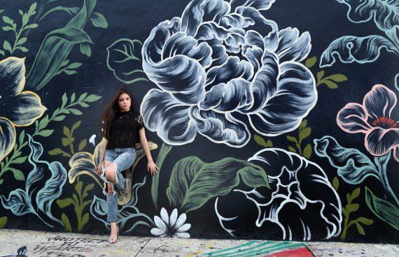 Quinceañera Photography Wynwood Graffiti